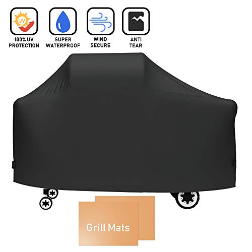 X Home 7552 Grill Cover 61 inch Fits for Weber Genesis Silver C, Genesis Gold B/Gold C, Genesis 2000-5500, 61