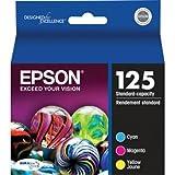 Epson America T125520 Color Multi Pack DURABrite 12