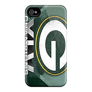 CaterolineWramight TkL11998vemC Protective Cases For Iphone 4/4s(green Bay Packers)