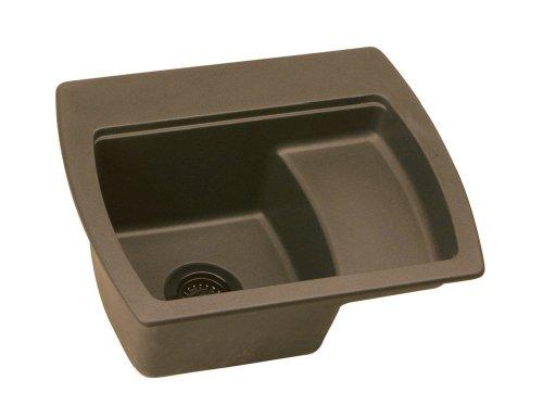 Elkay ELG2218LMC0   Harmony E-Granite Sink, Mocha, Single-Bowl