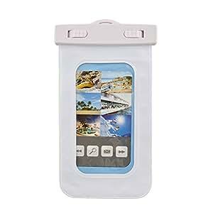 Funda impermeable subacuática Miryo Diseño cubierta protectora para Smartphone Galaxy S4 S3 S2 iPhone 5/5S iPhone 4 4S blanco