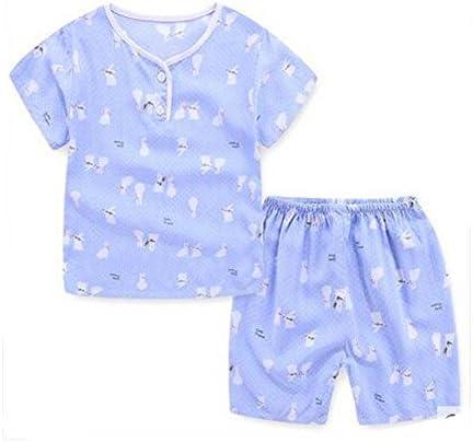 ボーイズかわいい漫画パジャマショートセットコットンキッズ夏の子供の寝間着