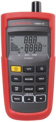 Amprobe THWD-10 Temperature and Relative Humidity Meter