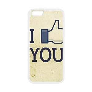 IPhone 6 Plus Case Funny 95, Antishock Lovely Fingers Vinceryshop, {White}