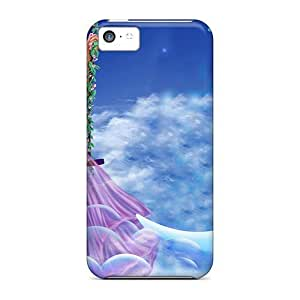 Diy iPhone 6 plus Awesome BreakFree Defender Tpu Hard Case Cover For iPhone 6 plus- Lady Swing In The Moon Cloud
