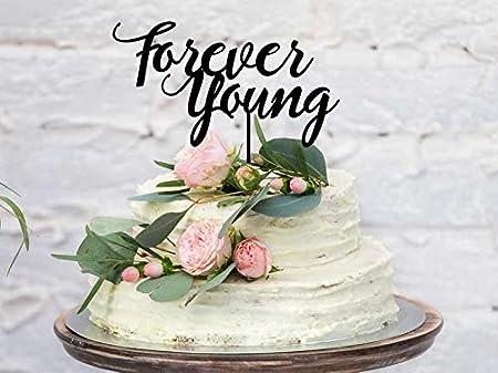 Decoración para tarta de cumpleaños para adultos y adultos ...