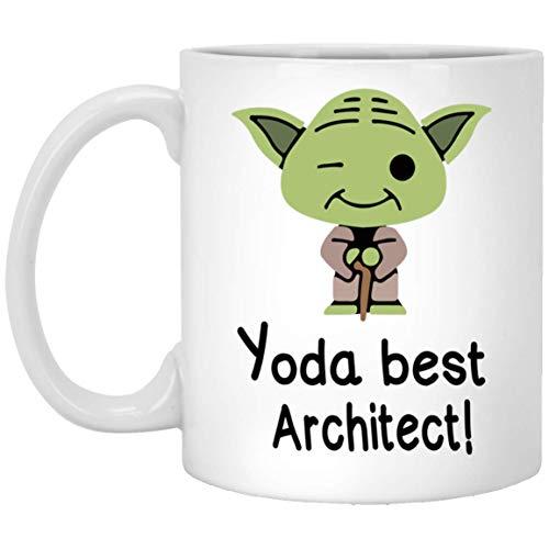 (Architect Mug - Yoda Best Architect Gift - Gifts for Architect - Yoda Collectors - Yoda Best Architect Pun Mug)