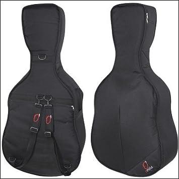 Ortola 0573-001 - Funda guitarrón mejicano, color negro ...