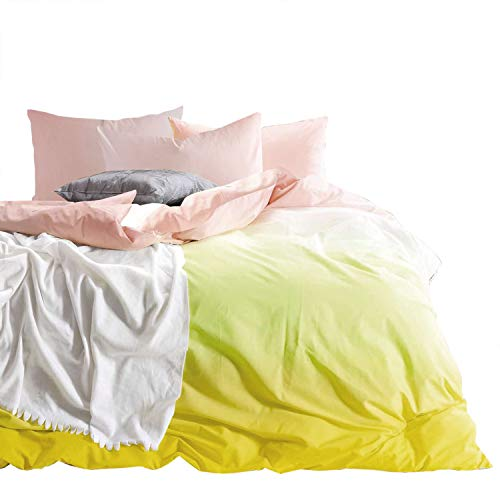 Wake In Cloud - Yellow Pink Gradient Duvet