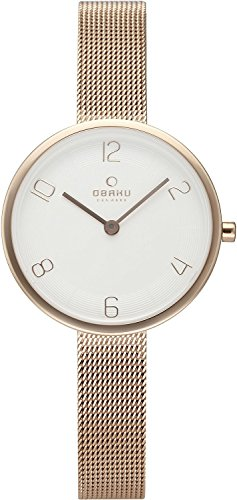 OBAKU watch VAND ROSE 2 needle V195LXVIMV Ladies