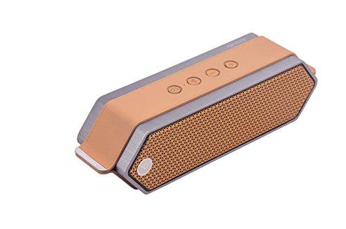 Dreamwave Harmony Copper Camel Brushed Aluminum Wireless Premium Bluetooth Speaker