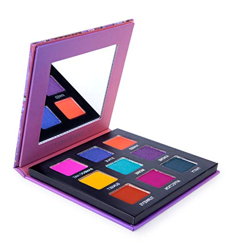Peaches And Cream Halloween Makeup (Highly Pigmented Eyeshadow Palette,YMH BEAUTE 9 Bright Colors Eye Shadow Palettes Matte Eyeshadow Makeup Palette Long Lasting Waterproof Colorful Cosmetics)