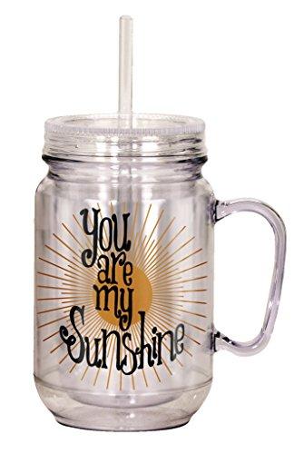 Spoontiques You Are My Sunshine Mason Jar, Multi]()