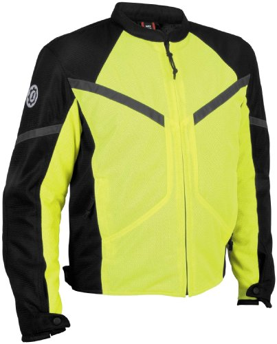 (Firstgear Rush Mesh Jacket , Size Modifier: Tall, Gender: Mens/Unisex, Apparel Material: Textile, Size: 2XL, Primary Color: Black FTJ.1005.03.M012)