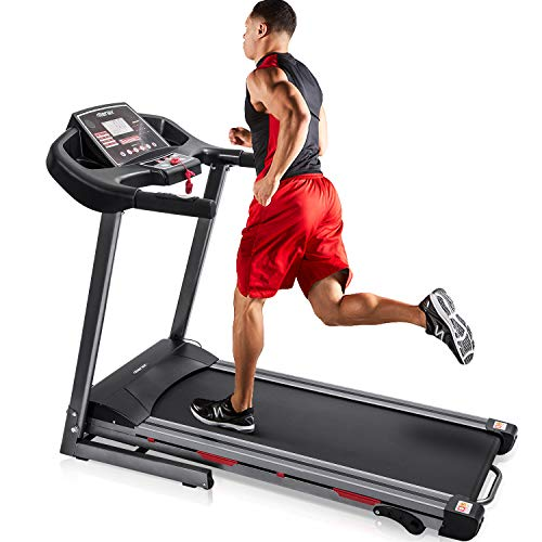 Merax Folding Treadmill for Home Use, Easy Assembly Compact Running Machine (1.5HP) 1