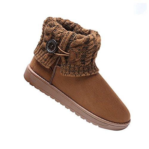 Boots da Nocciola A Neve Donna Stivali Mae Lavoro Summer Maglia qtwX6BPP