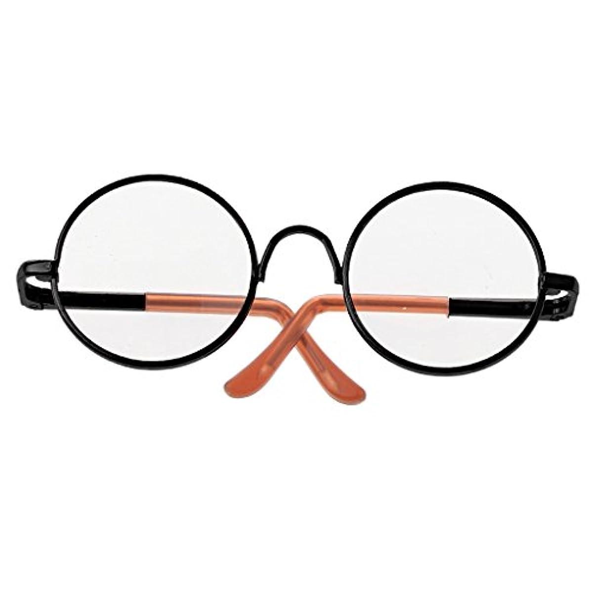 [해외] DOVEWILL 큐빅스톤용  안경  안경 수납 케이스 첨부속  1/6블라이스 인형 대응전8색 - 블랙