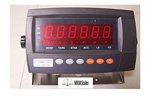 Digiweigh Readout/Display DWP-102E LED Indicator with Rechargable Battery, Use for Floor Scale/Load Cell/Bench Scale ()