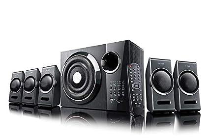 F&D 3000X 5.1 Channel Multimedia Speakers (Black)