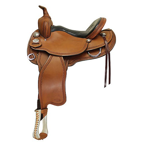 Fabtron Crates Round Skirt Padded Classic Barrel Saddle 15