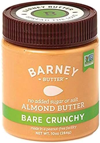 Peanut & Nut Butters: Barney Butter Almond Butter Bare Crunchy