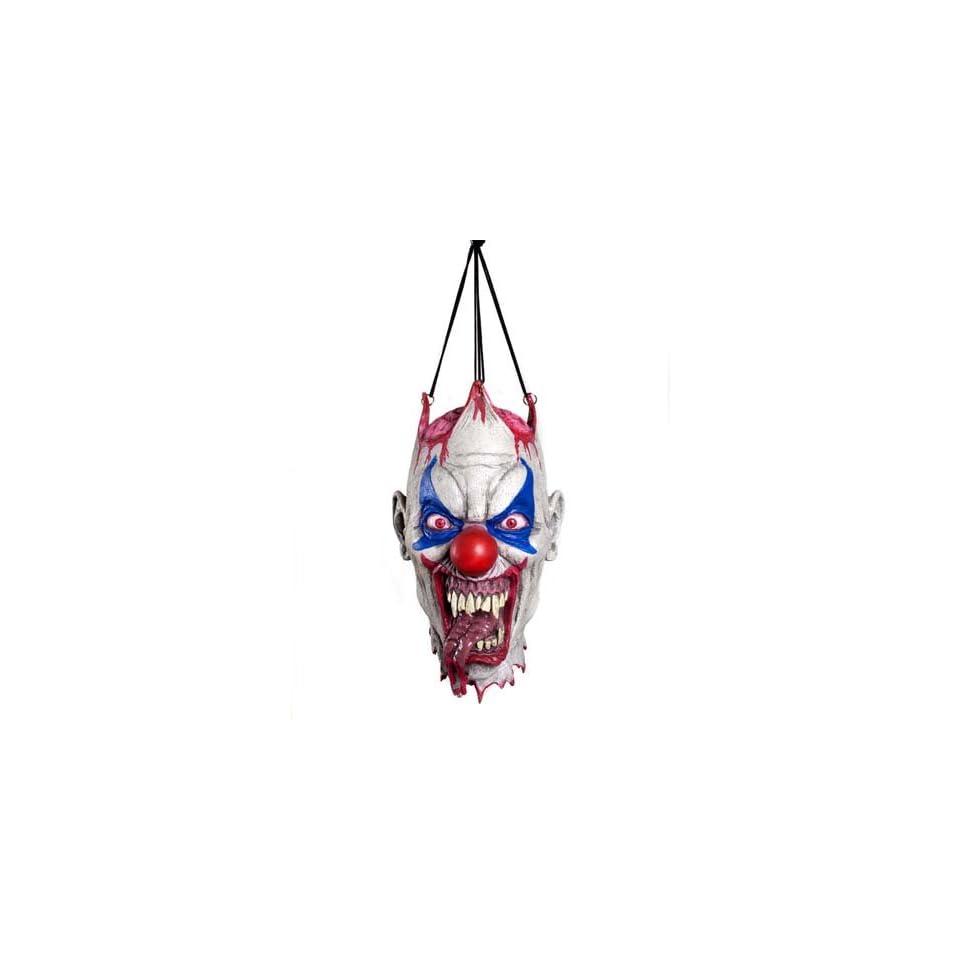 Hanging Clown Head Decoration