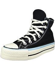 Converse Chuck Taylors All Stars Lift Hi Womens zwart/blauw/zilverreiger Trainers