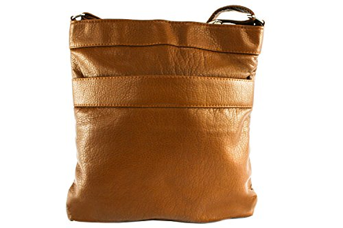 King Empress Purse Cross Body Brown Bag dPqvwqKx0p