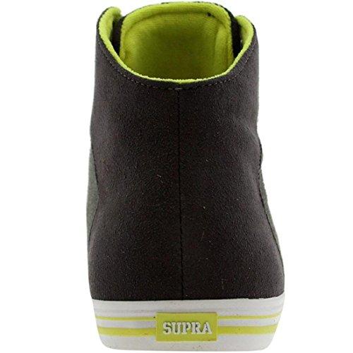 Supra Cuttler grey suede / neon EU 44