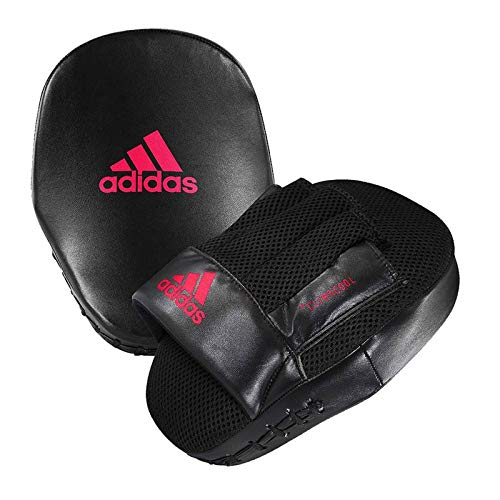 adidas Super Fitness Punch Mitts, Black/White