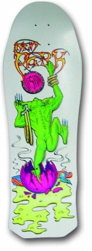 Vision Ken Park III Reissue Skateboard Deck, White, 10 x 30-Inch