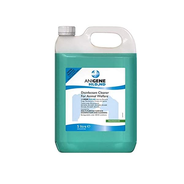 Anigene Hld4Nd Defra Approved Disinfectant 5L Dill 1