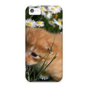 Awesome Design Cute Kitten Hard Case Cover For Iphone 5c