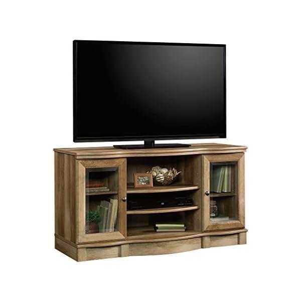 """Sauder Regent Place TV Stand, 50"""", Craftsman Oak finish"""