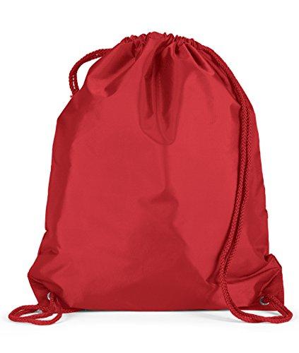 Blank Nylon Drawstring Bags - 1