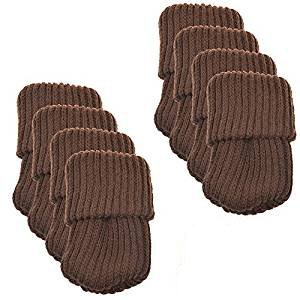 BCP 8pcs Knitting Wool Furniture Socks Table Chair Leg Floor