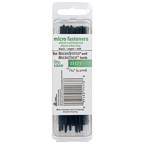Genuine Avery Dennison Micro Stitch Tagging Gun and OEM Replacement Parts (Black Refills)