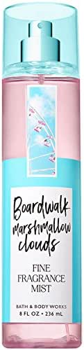 Bath and Body Works Boardwalk Marshmallow Clouds Fine Fragrance Mist 8 Fluid Ounce