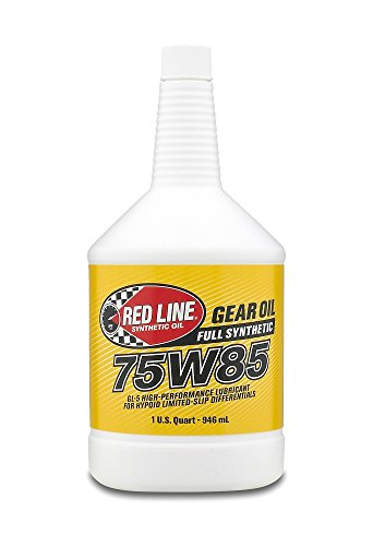 Red Line 50104 75W85 GL-5 Gear Oil, 1 Quart, 1 Pack ()