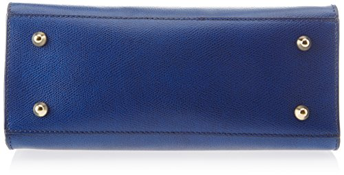 Chicca Borse 8844, Borsa a Spalla Donna, 28x22x12 cm (W x H x L) Blu (Blue)