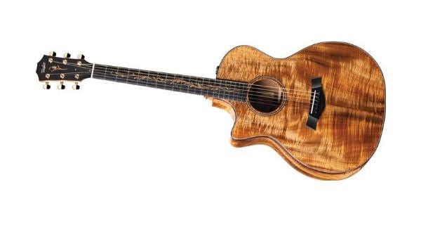 Taylor k24ce-l KOA, Grand Auditorium Guitarra acústica, 6 cuerdas ...