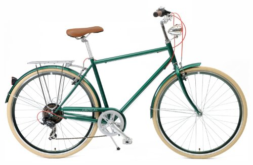 Critical Cycles Diamond Frame 7 Speed Shimano Hybrid Urban Commuter Road Bicycle