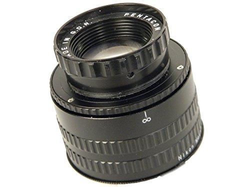 PENTACON AV 80mm/f2 8 NIKONマウント改造