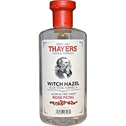 Thayers Alcohol-free Rose Petal Witch Hazel with Aloe Vera 12 oz by Thayer's