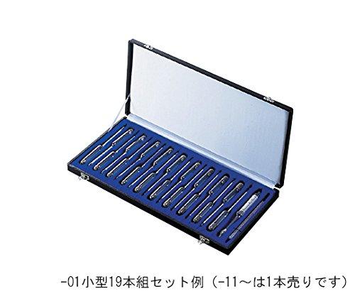 日本計量器工業1-5659-01標準比重計小型19本組 B07BD2LVQS