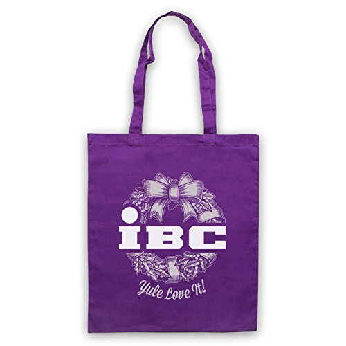 Scrooged IBC Yule Love It Bolso Morado