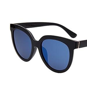 JO Cat Eye Oversized Carl Zeiss Lens Fashion Sunglasses with TR Frame for Women Men JO5311 Light Blue