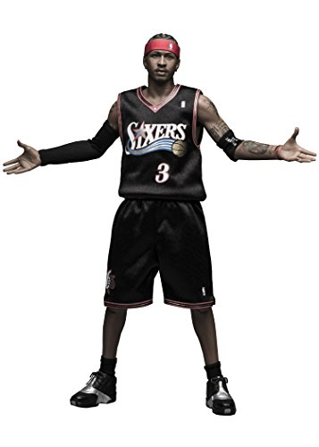 1/6 Real Masterpiece Collectible Figure / NBA Collection: Allen Iverson RM-1060