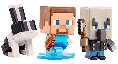 (Minecraft Mini Alex W/Elytra, Evoker & Green Sheep Figure, 3)