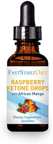 Raspberry Ketones Drops + 16 Other Powerful Ingredients - Appetite Suppressant for Weight-Loss (2OZ) [Keto, Rasberry Keytone, Ketone Extract, Diet Supplements, Metabolism Booster, Belly Fat Burner]